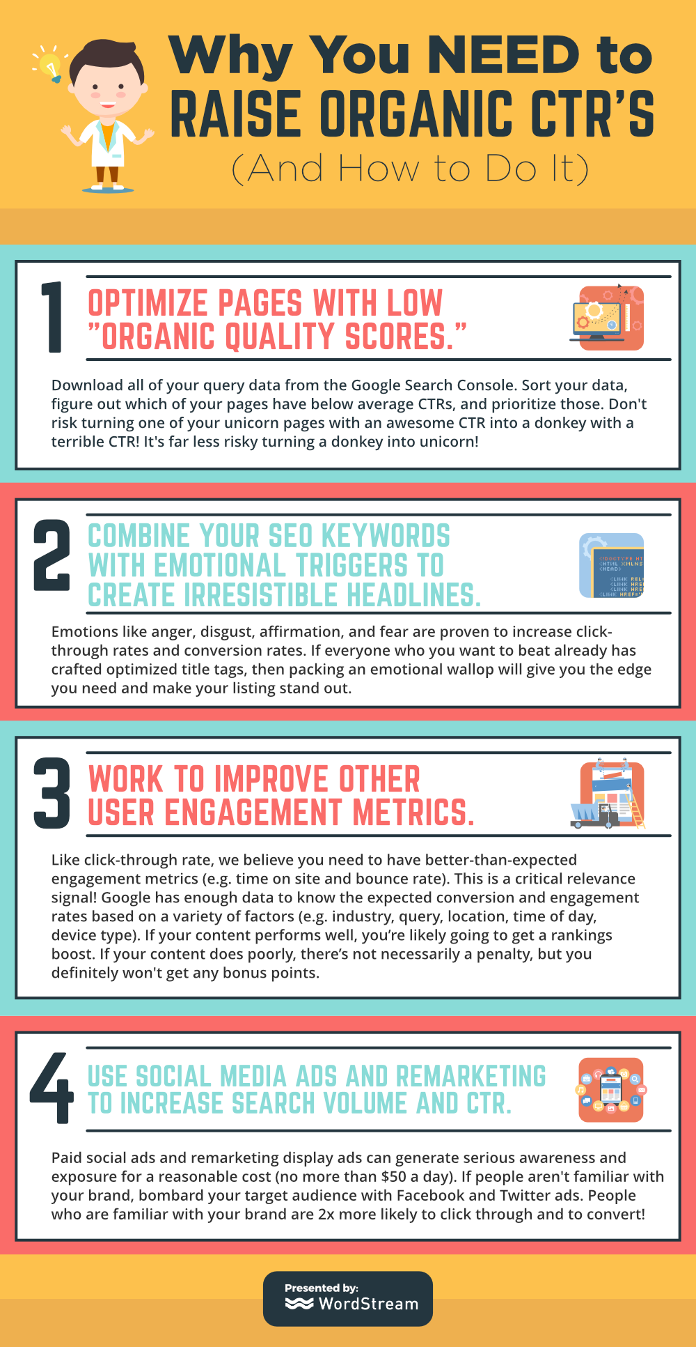 why you need to raise organic ctr s and how to do it wordstream infographic