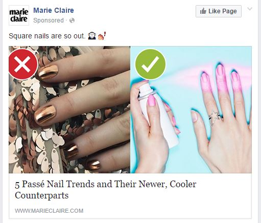 Facebook Ad Specs
