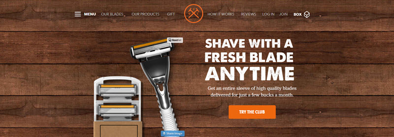 Dollar Shave Club Example