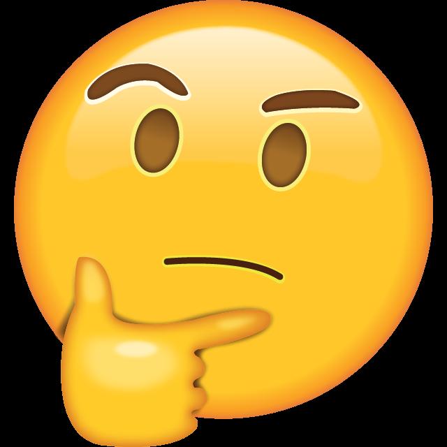 perplexed emoji