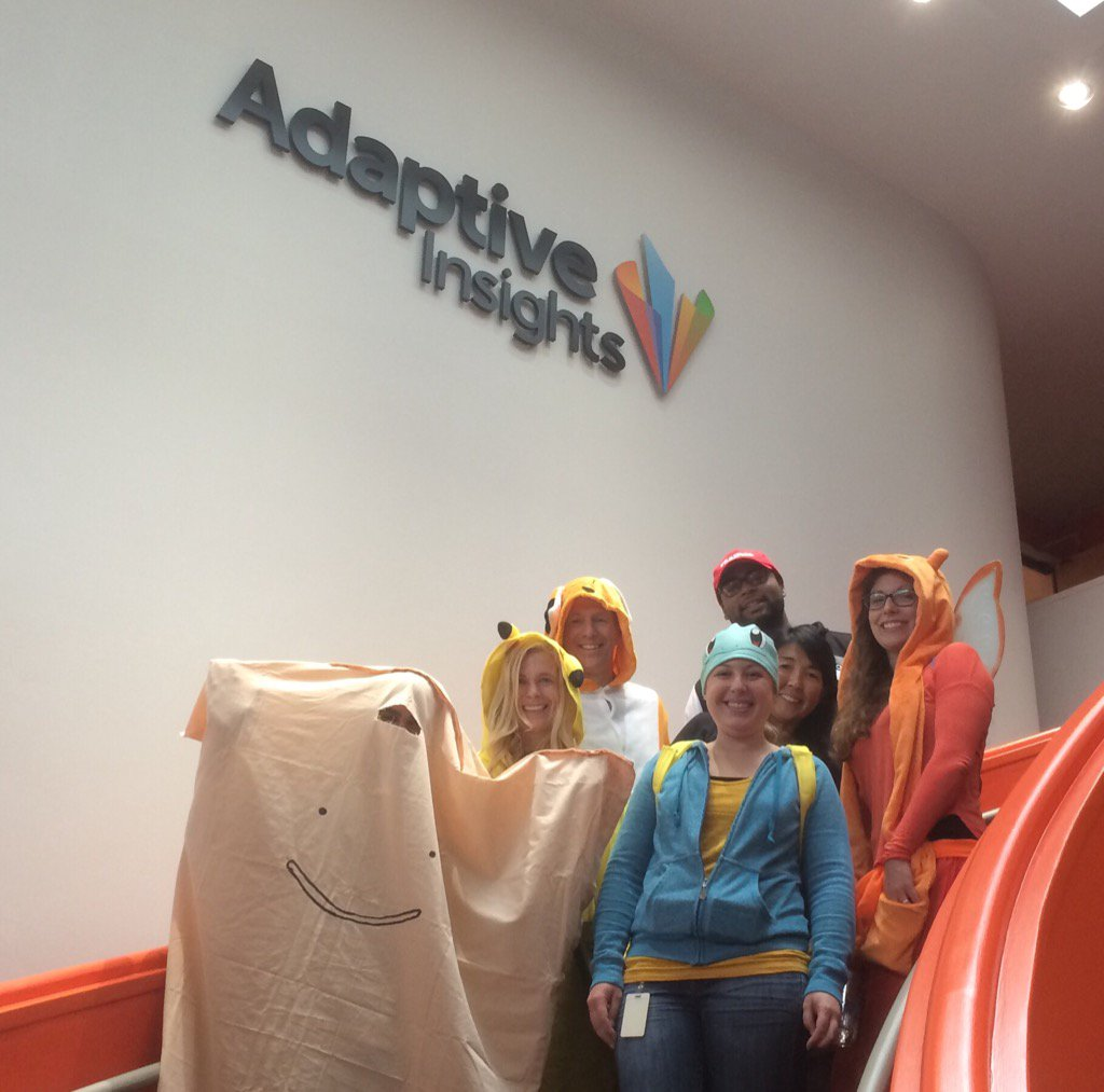 Adaptive Insights team photo