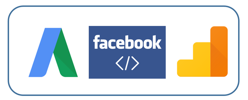adwords conversion tracking facebook GA