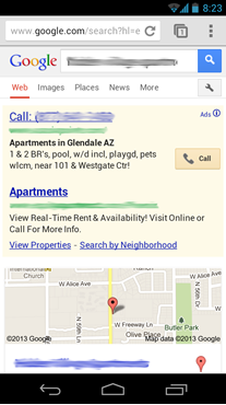 Apartment Marketing with Google AdWords