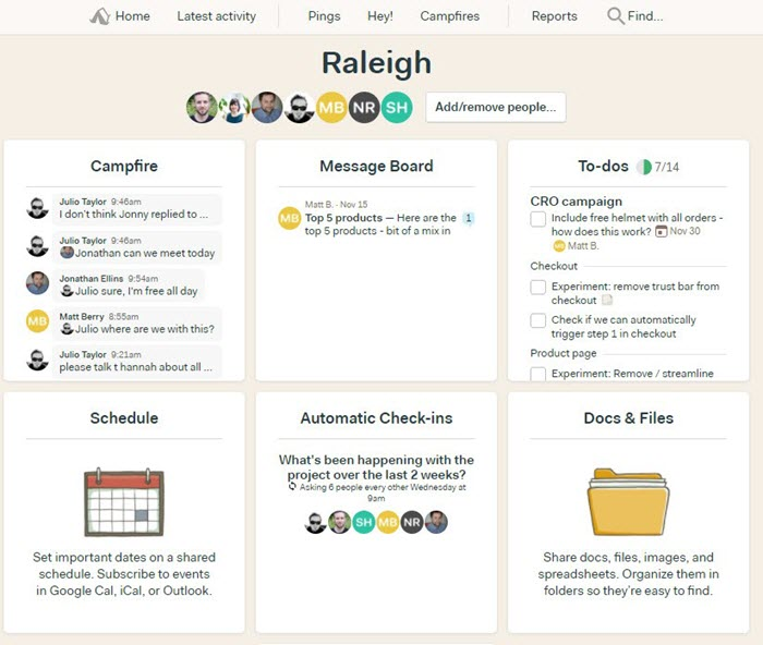basecamp agency project management tool
