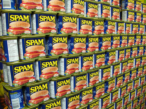 Beginner's guide to target markets cans of spam on shelf