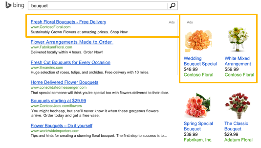 Bing Product Ads