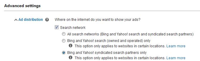 bing ads vs google adwords