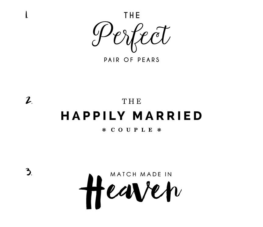 Blog design trends font pairing