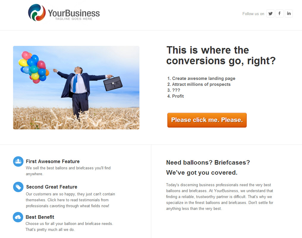 The Clueless Marketer's Guide to Building a Landing Page from ...