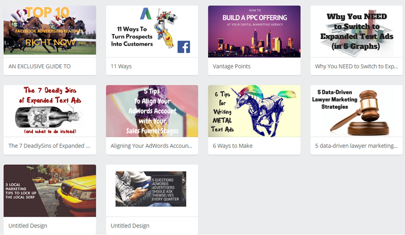 canva blog creative title image examples