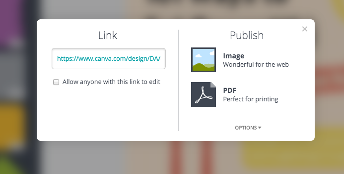 canva export