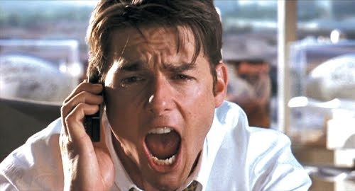 Commercial intent keywords Tom Cruise Jerry Maguire