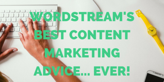 Content marketing advice