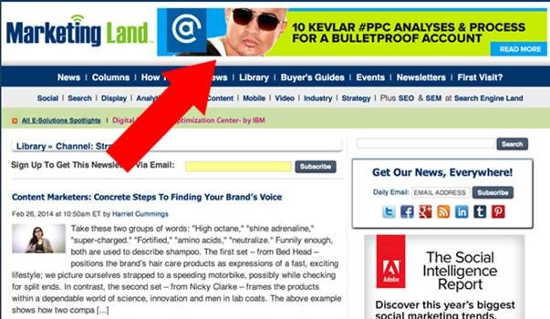 Content remarketing Marketing Land screenshot