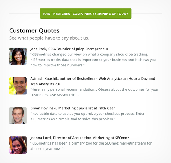 Complete guide to customer testimonials customer testimonials highlight ideal customers wajeb Image collections