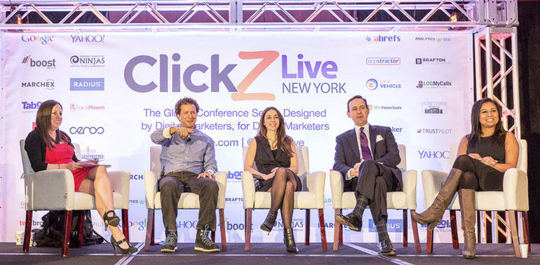 Digital marketing conferences ClickZ Live NYC 2015
