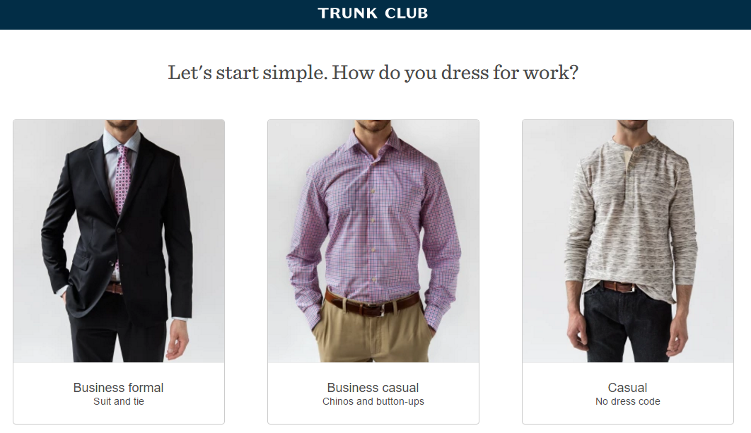 Ecommerce retention Trunk Club