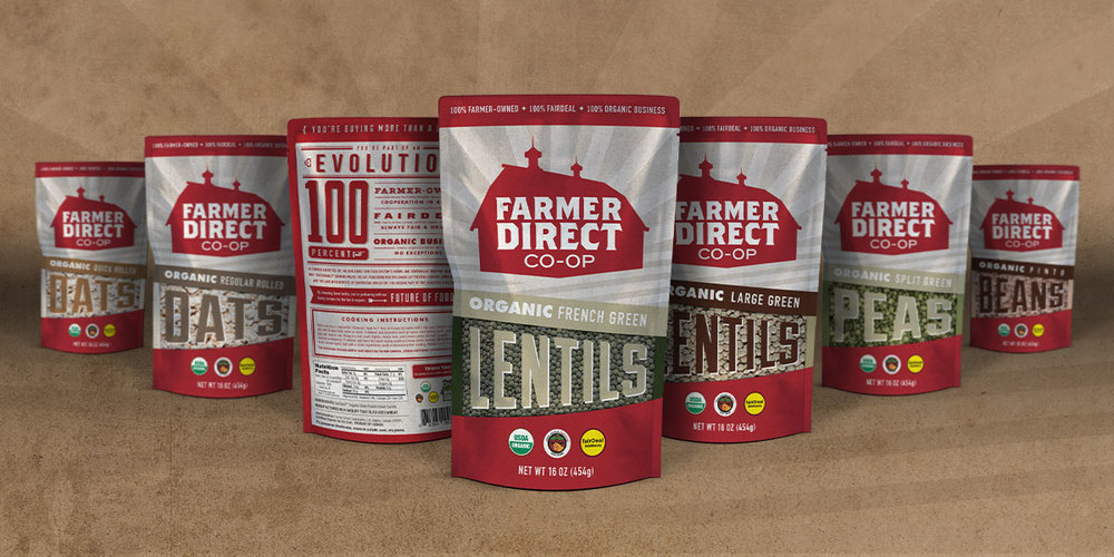 Ethical marketing Farmer Direct Coop products