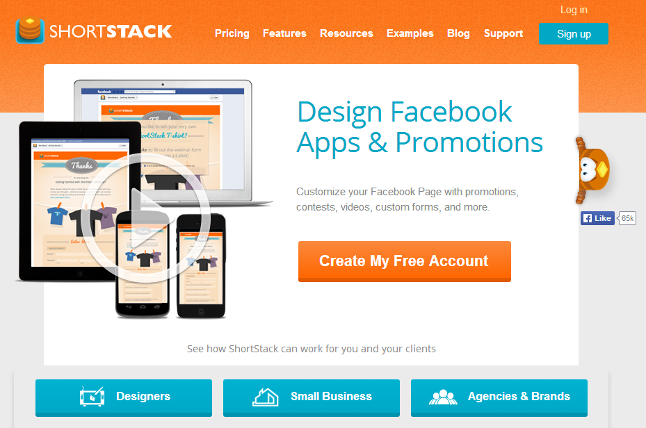 examples excellent landing pages