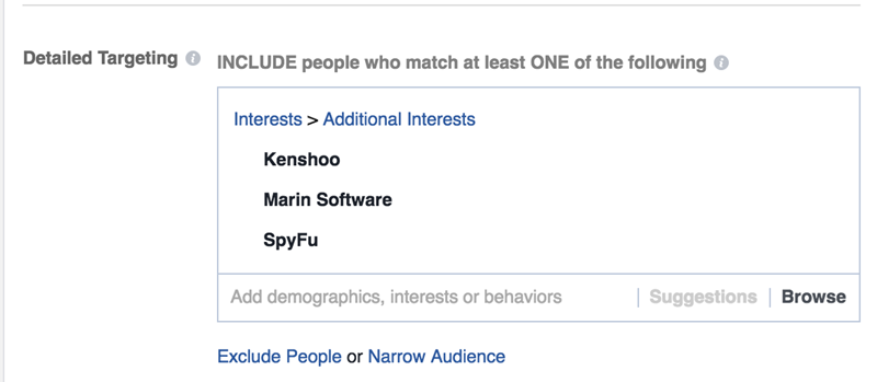 facebook behavior targeting detailed targeting