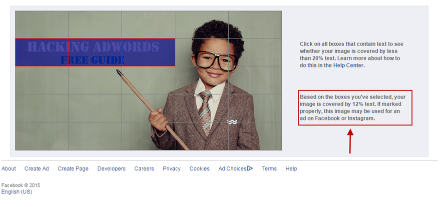 Facebook for lead gen ad images