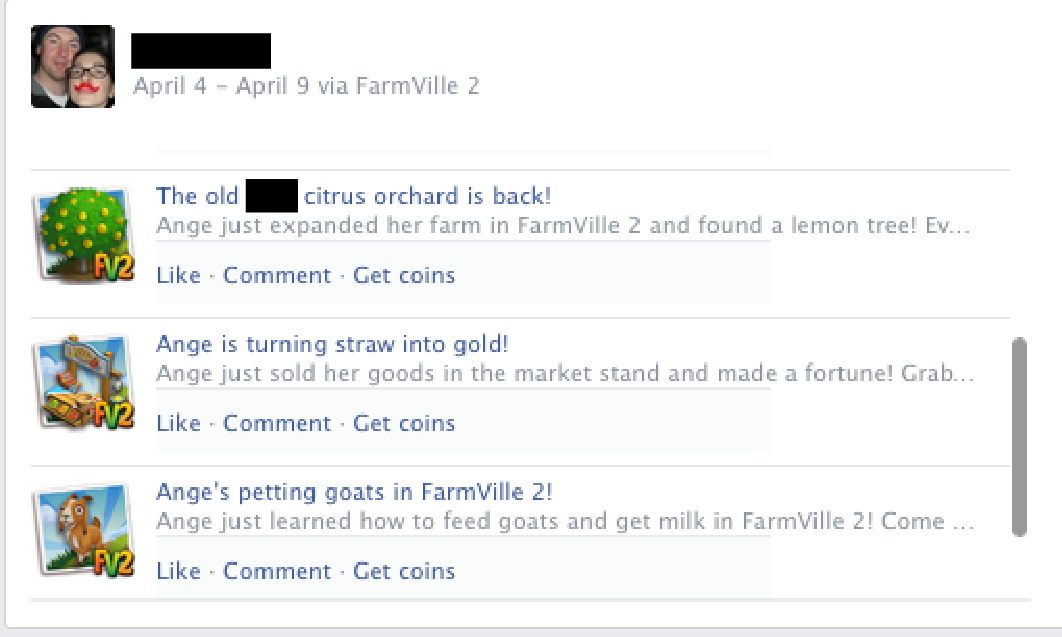 Farmville Marketing