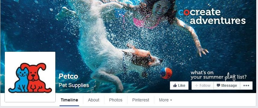 Facebook tricks cover image call to action