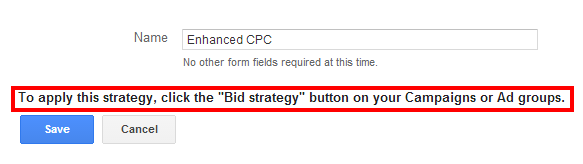 Enhanced CPC Strategy