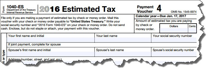 Freelancer's guide to taxes IRS Form 1040-ES estimated tax