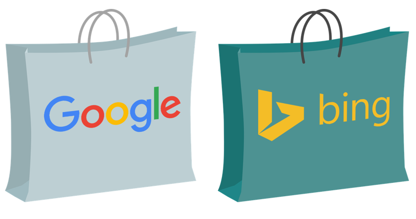 google shopping and bing shopping impressions on the rise