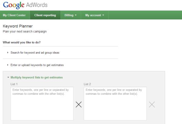 google keyword generator