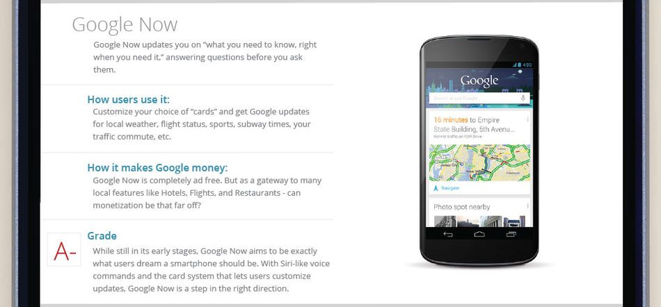 Google Now Mobile