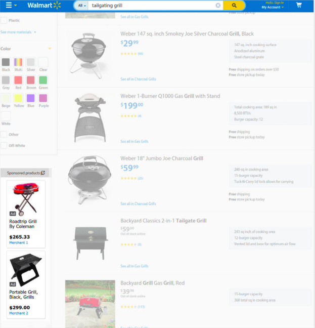 Google Product Listing Ads expanded to search network