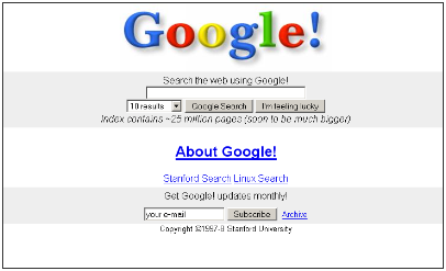 Google Search Engine Picture