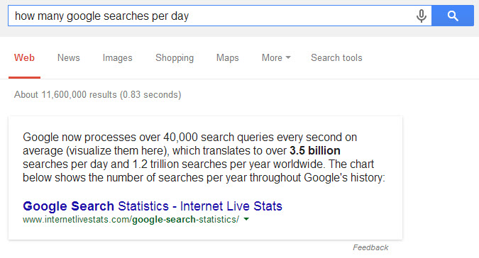 Google Voice Search answering questions knowledge graph