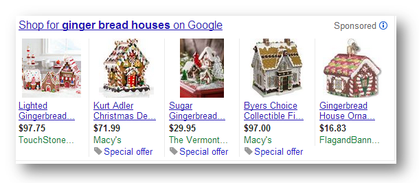 Holiday marketing campaigns Shopping Ads