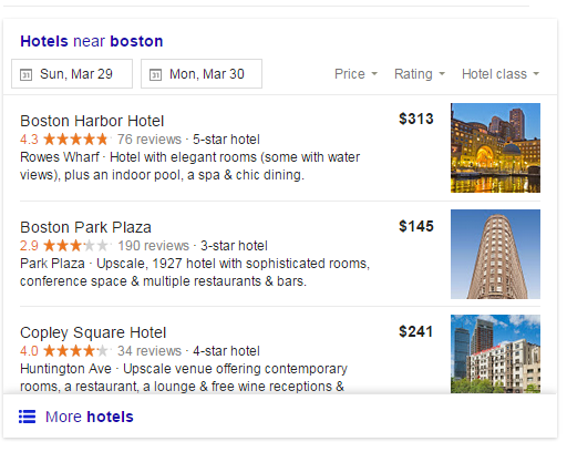 Hotel marketing AdWords hotel ads