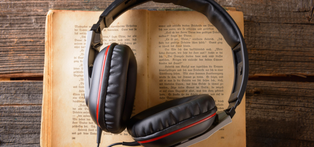 How to promote a book audiobook concept