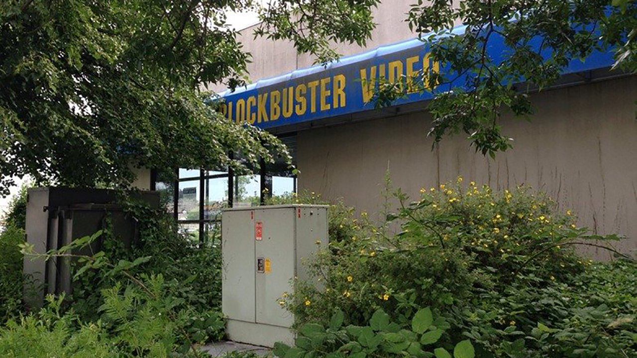 How to promote a book Blockbuster Video store ruins overgrown