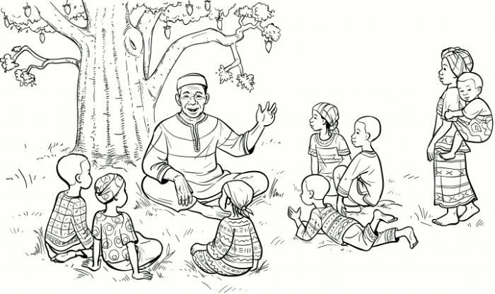 How to write introductions oral storytelling illustration