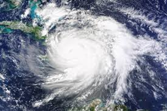 Hurricane Matthew satellite image