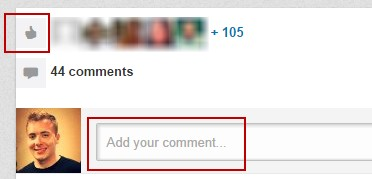 Improve your linkedin profile add a comment