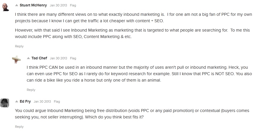 Is PPC included in Inbound Marketing?