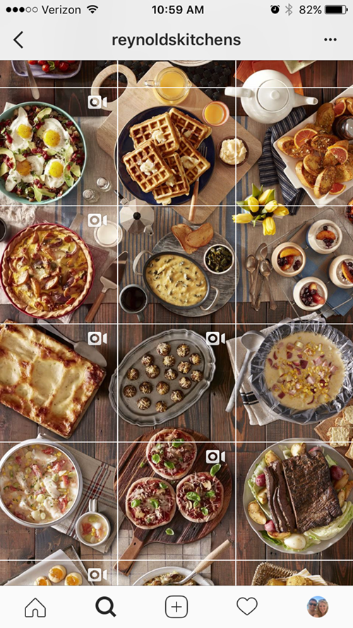 Instagram Grid Advertisement