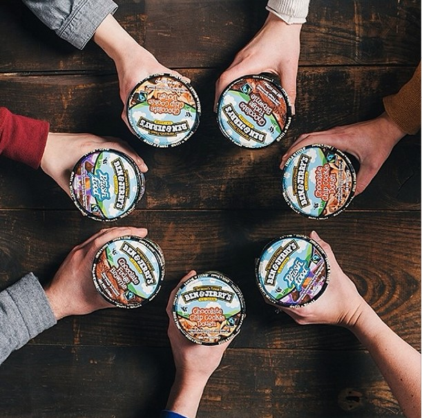 Instagram Marketing Example Ben and Jerry