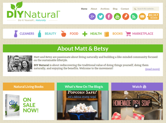 Is email marketing effective DIY Natural homepage