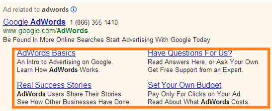 ad extensions and quality score
