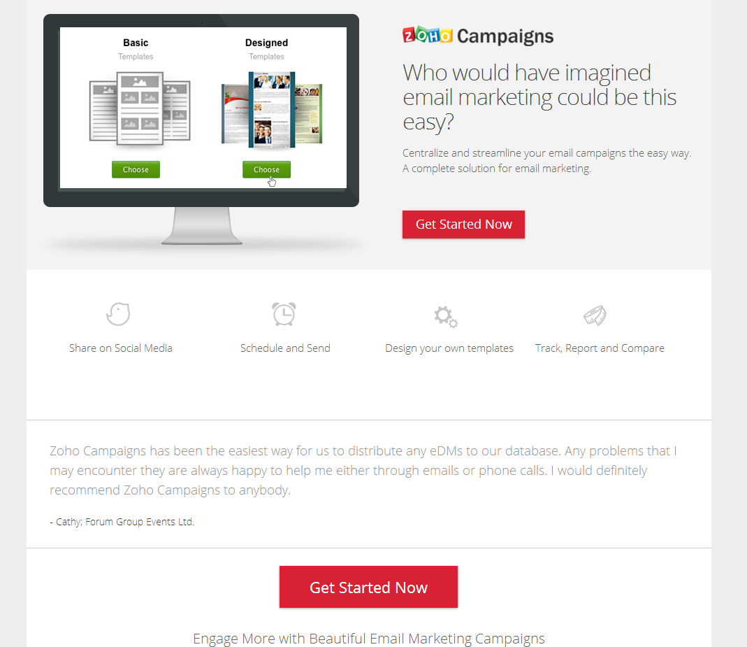 B2b landing page examples