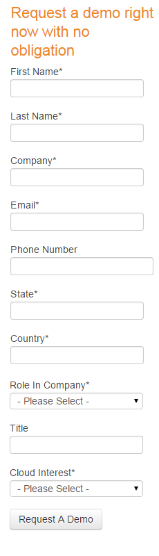 Landing page forms too long