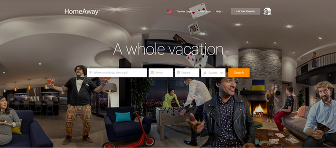 Landing page ideas use real people in photographs
